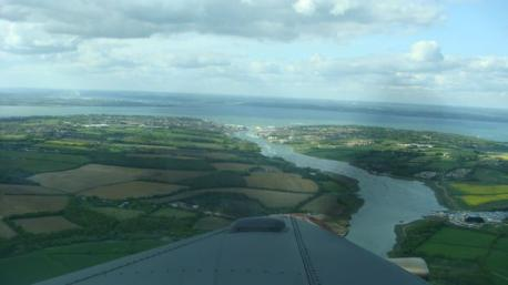 Cowes from the Sky